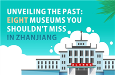 Infographics: Eight museums you shouldn't miss in Zhanjiang