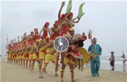 Video: Zhanjiang human dragon dance