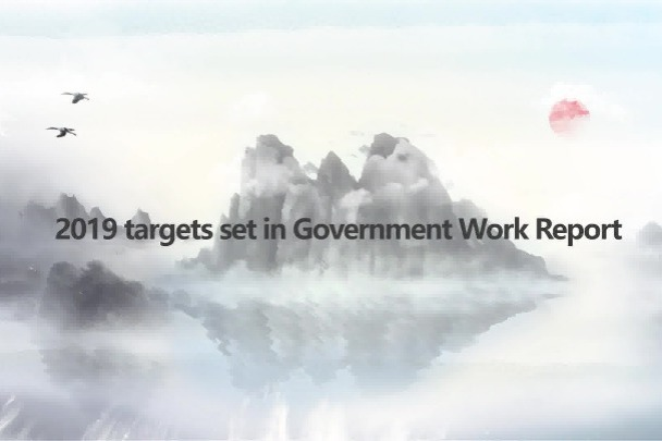 2019 targets set in Government Work Report