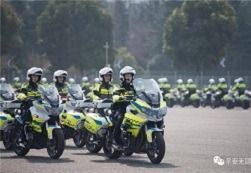 Wuxi traffic police expand motorcycle unit