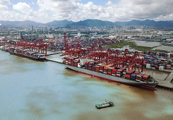 Ningbo-Zhoushan Port ranks 3rd for container throughput