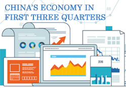 10 sets of data shed light on China's economy in first three quarters
