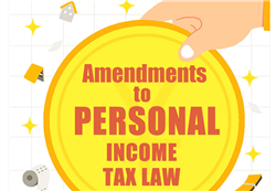 Amendments to personal income tax law