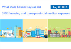 What State Council says about SME financing and trans-provincial medical expenses