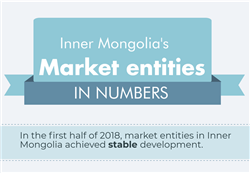 Inner Mongolia's market entities in numbers