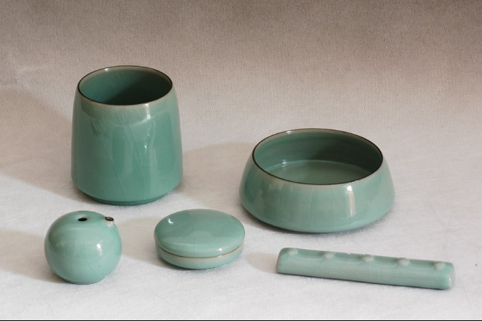 Traditional firing technology of Longquan celadon