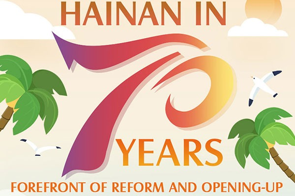 Hainan in 70 years: Forefront of Reform and Opening-up