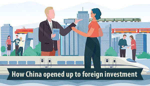 How China opened up to foreign investment