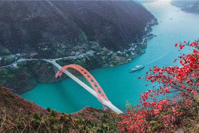 Little Three Gorges, Wushan