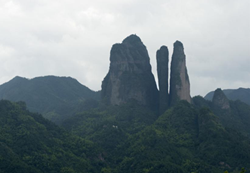 Jianglang Mountain and Nianbadu, Zhejiang province
