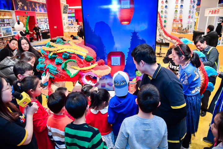 Lego Group shows strong, double-digit growth in China