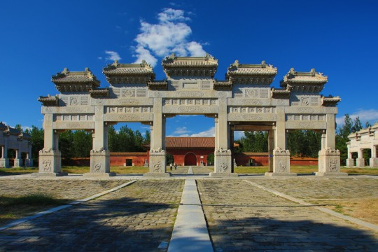 Western Qing Tombs, Hebei province