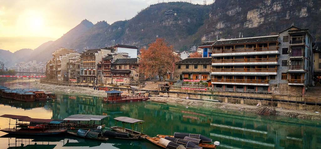 Zhenyuan Ancient Town Scenic Area, Guizhou province