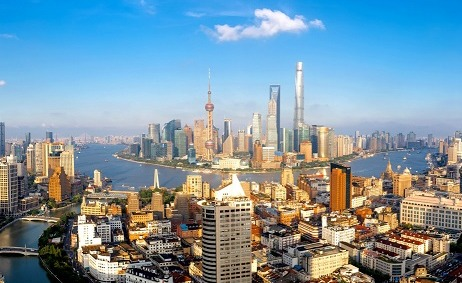 Shanghai, one of China's four province-level municipalities