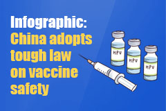 Top legislature adopts first vaccine law