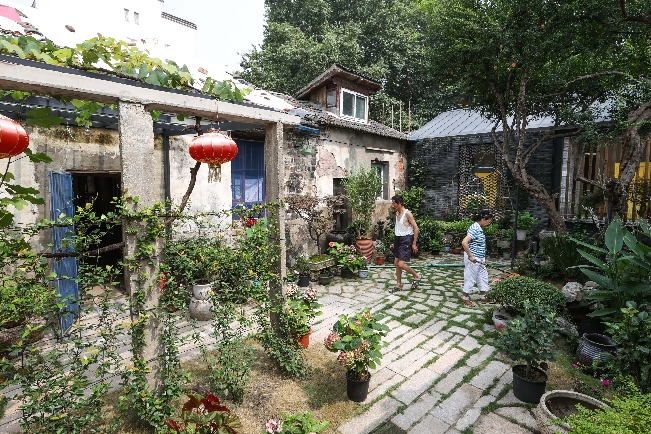 Nanjing project brings buildings back to life