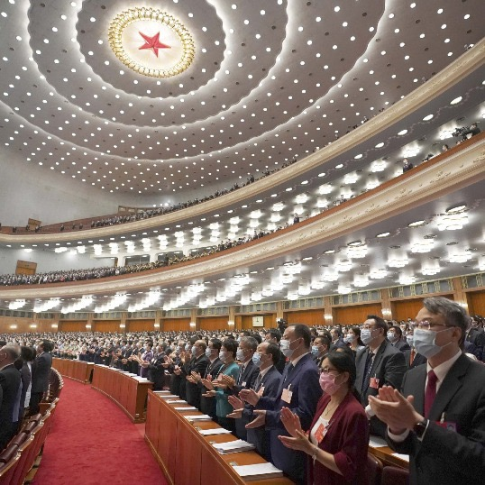 Watch it again: China's top legislature starts annual session