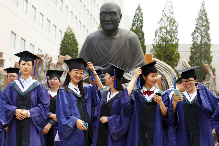 Top 10 Chinese cities with strong education