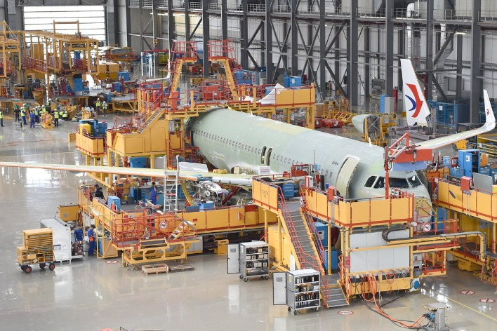 China first bright spot for Airbus since outbreak
