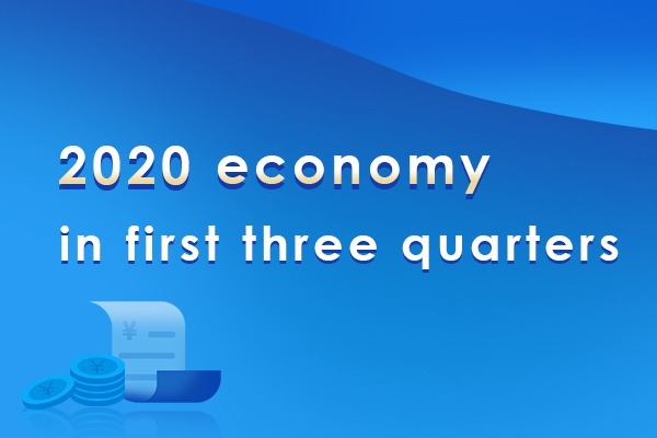 2020 economy in first three quarters