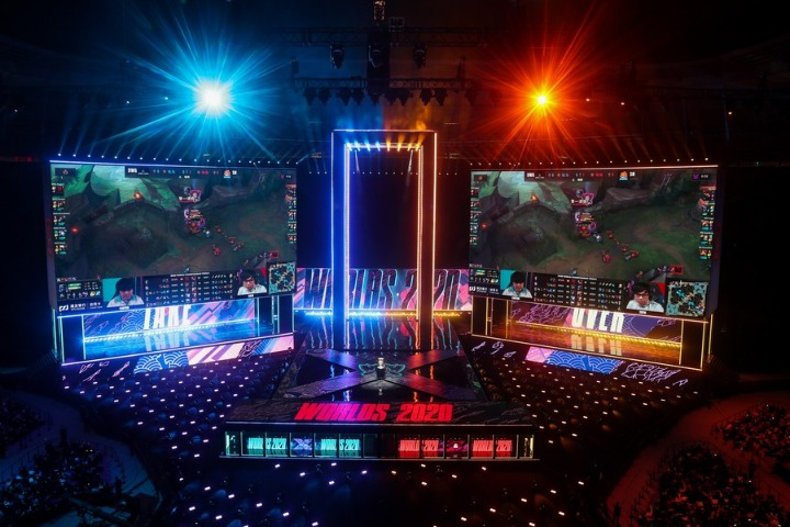 Big multinationals tap into China's growing e-sports industry