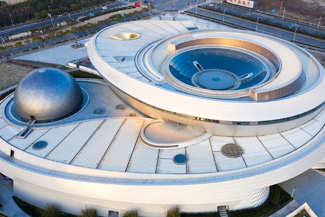World's largest planetarium to begin trial operations in Shanghai