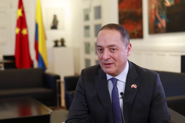 Colombian Ambassador: China the engine of world trade growth