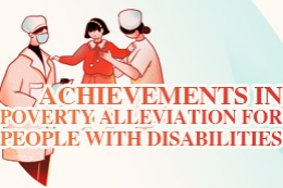 Achievements in Poverty Alleviation for People with Disabilities