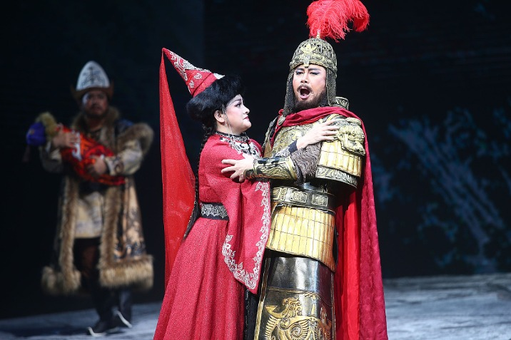 China's original opera productions: Grand narratives and beautiful singing voices