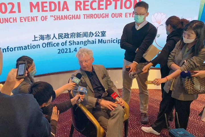 Series on foreigners' perspectives of Shanghai launched