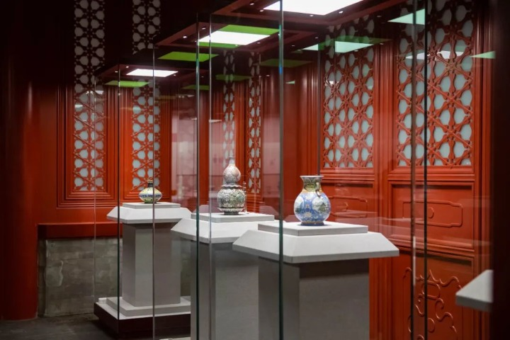 Palace Museum reopens ceramics gallery